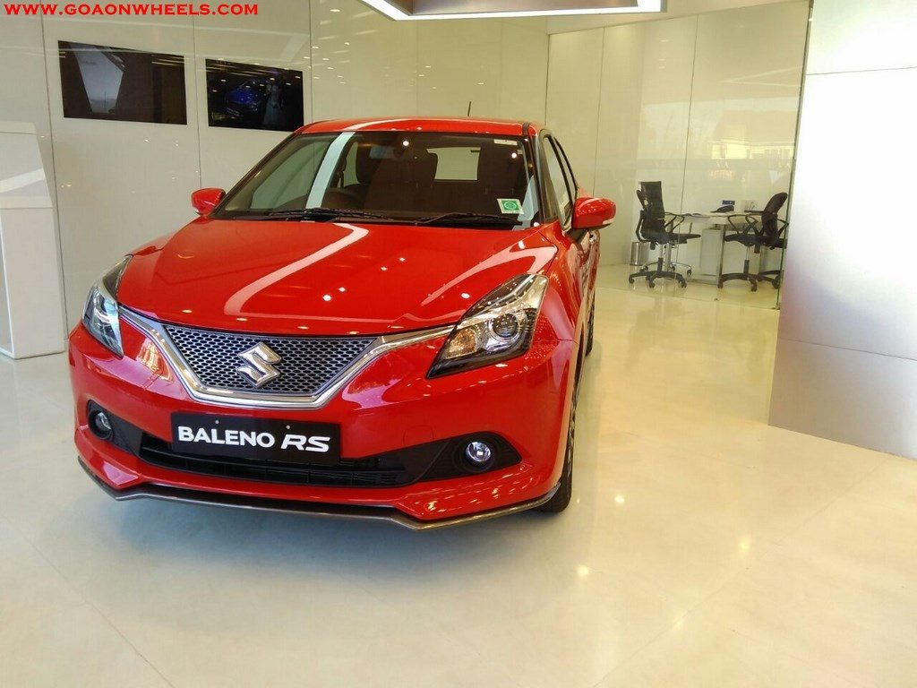 Sporty Maruti Suzuki Baleno Rs Launched In Goa