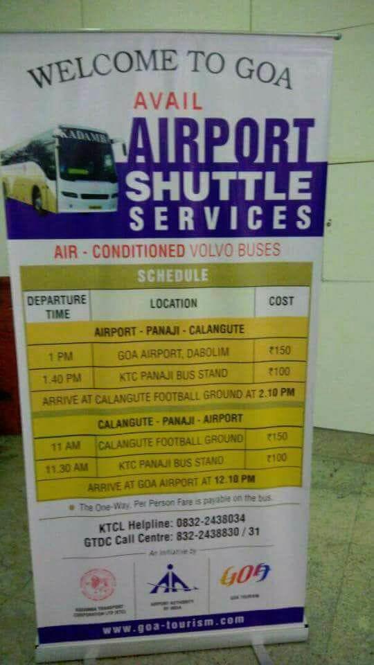 Kadamba launches luxury Volvo bus service from Goa Airport to Calangute