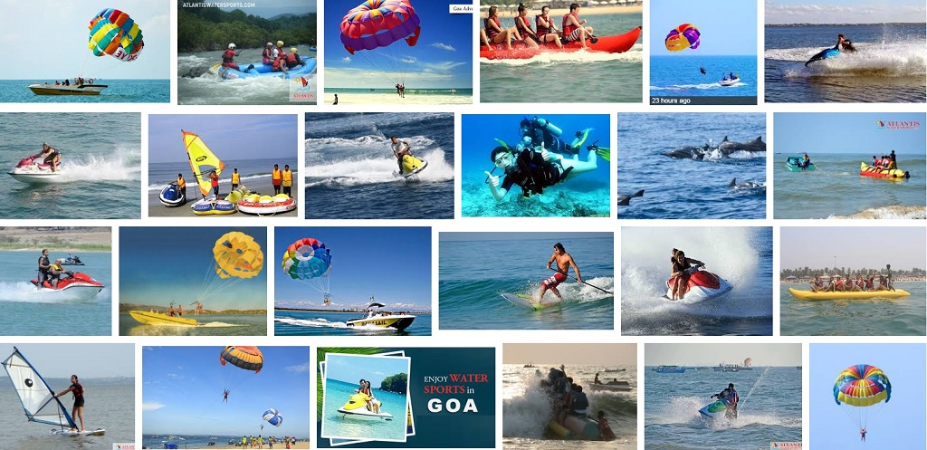 water sports activities in goa. Black Bedroom Furniture Sets. Home Design Ideas