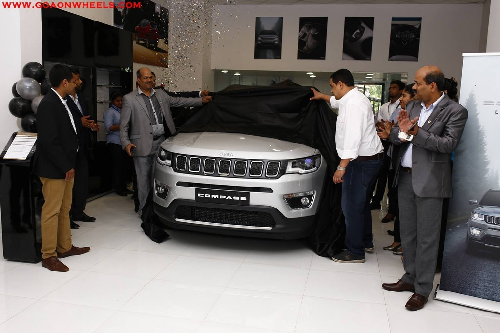 JEEP Compass unveiled in Goa bookings open