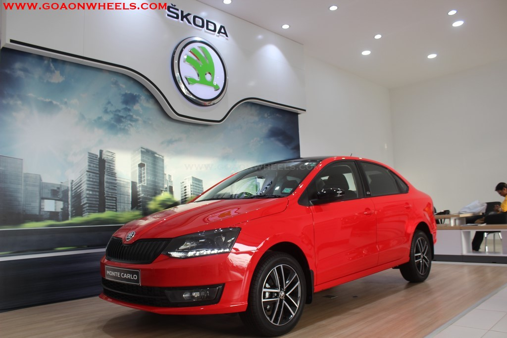 Skoda Rapid Monte Carlo Launched In Goa