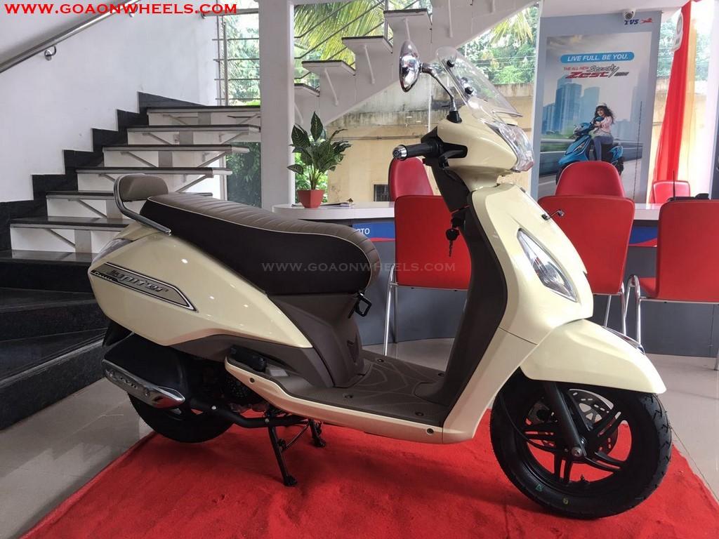 Tvs Jupiter Classic Introduced In Goa