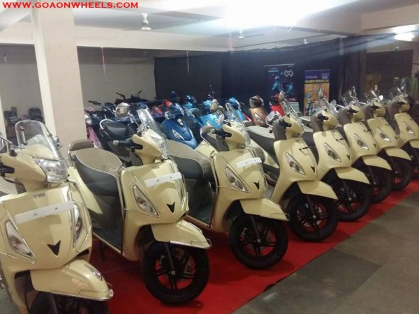 TVS Jupiter Classic introduced in Goa