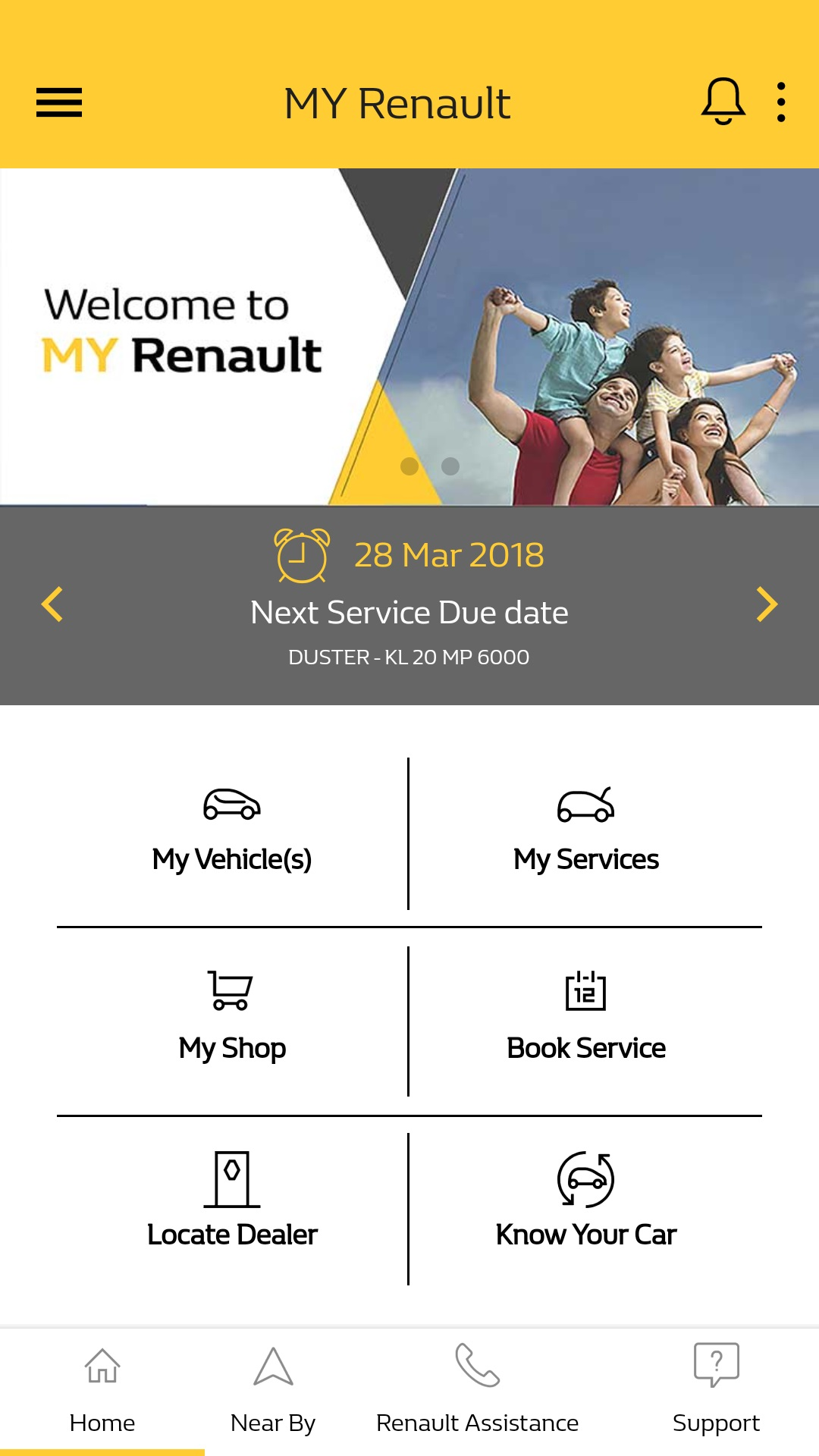 renault india launches my renault app to enhance customer experience. Black Bedroom Furniture Sets. Home Design Ideas