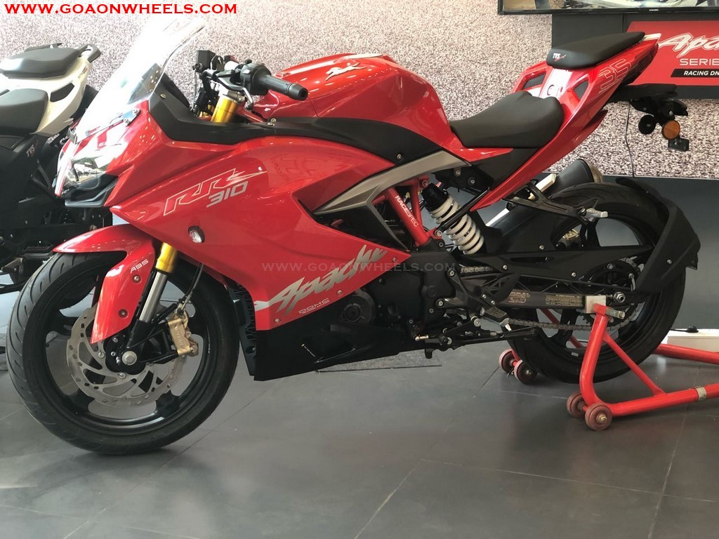 TVS launches new Apache RR 310 in Goa, on-road prices inside |
